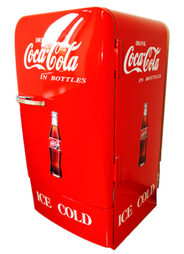 der coca cola k hlschrank vinzee ch. Black Bedroom Furniture Sets. Home Design Ideas