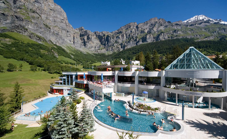lindner hotel therme leukerbad wellness wallis
