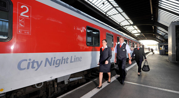 SBB Nachtzug - City Nightliner